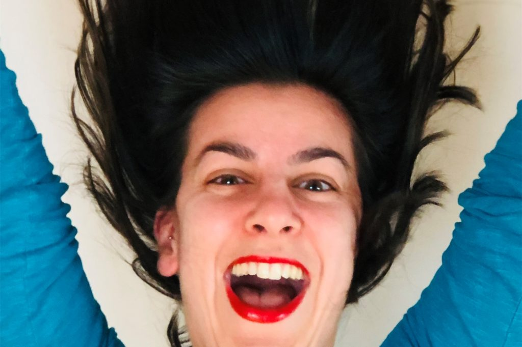 Die Haarpracht wird lang und länger: Sarah Radas hat auf unsere Bitte mit einem wunderschönen, humorvollen Foto geantwortet.