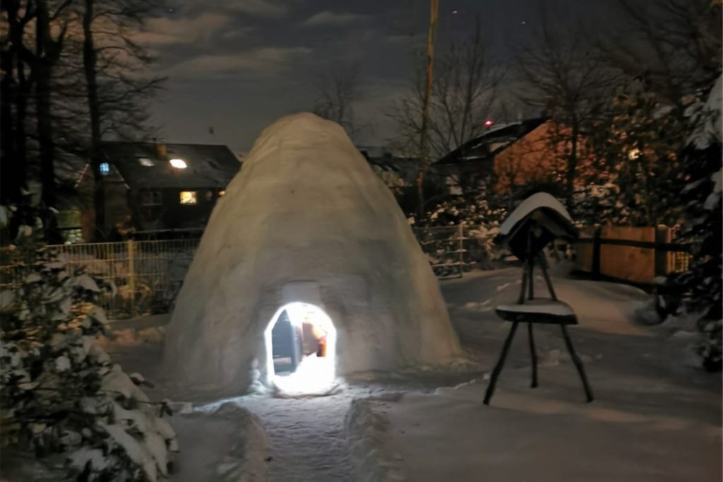 Wenn es nicht so kalt wäre, könnte es glatt romantisch sein.