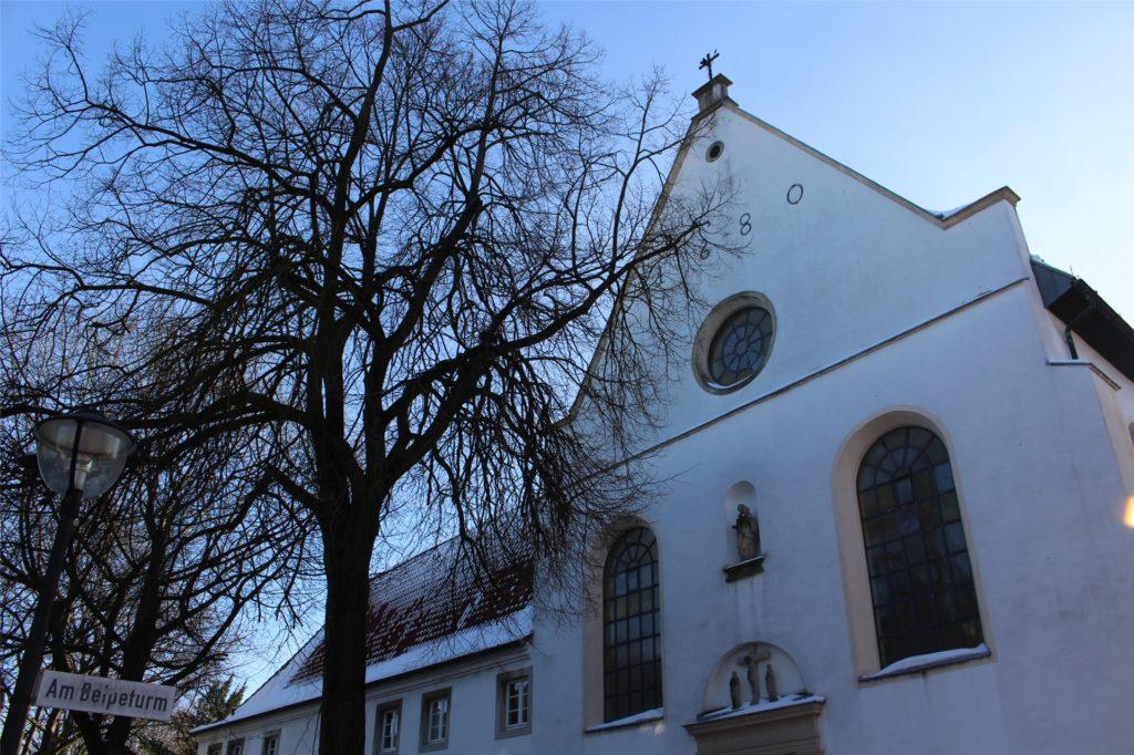 Acht Monate lang war die Kapuzinerkirche in Werne wegen der Umbauarbeiten geschlossen.
