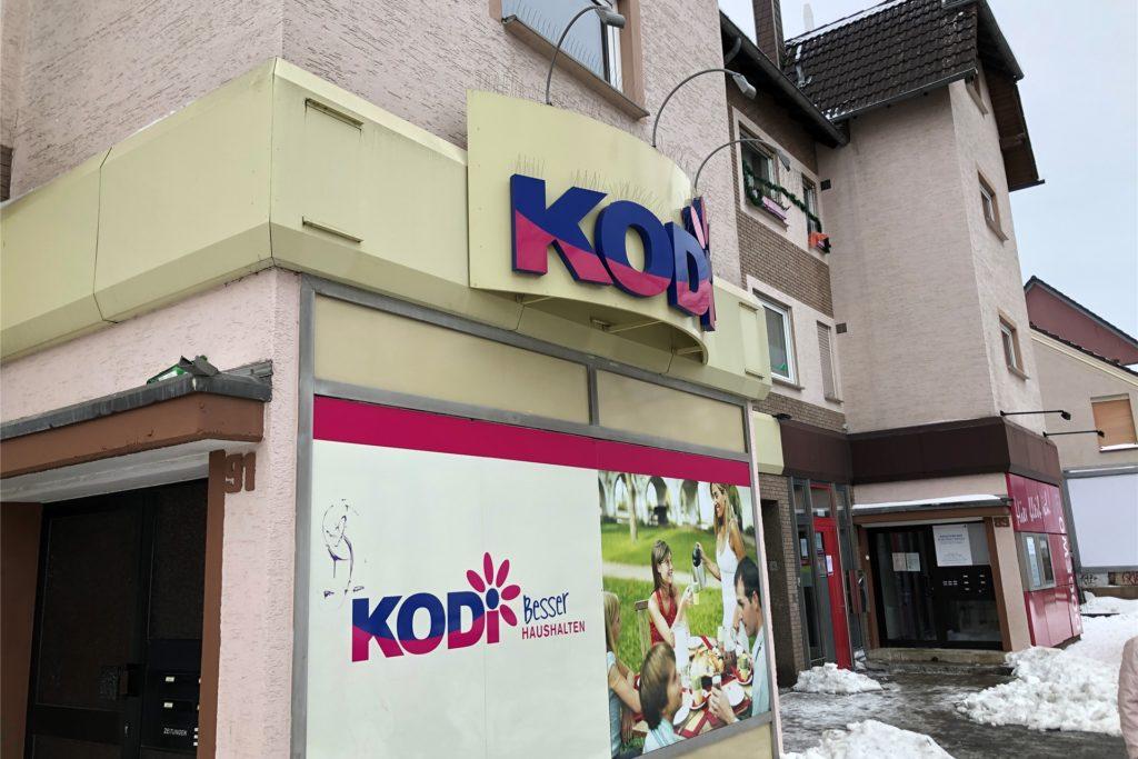 Die Kodi-Filiale am Wickeder Hellweg blieb geschlossen