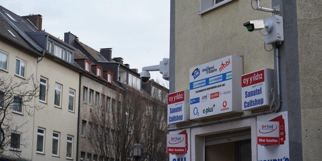 Die Kameras an der Münsterstraße haben bis zum Gerichtsurteil auf ihre Inbetriebnahme gewartet.