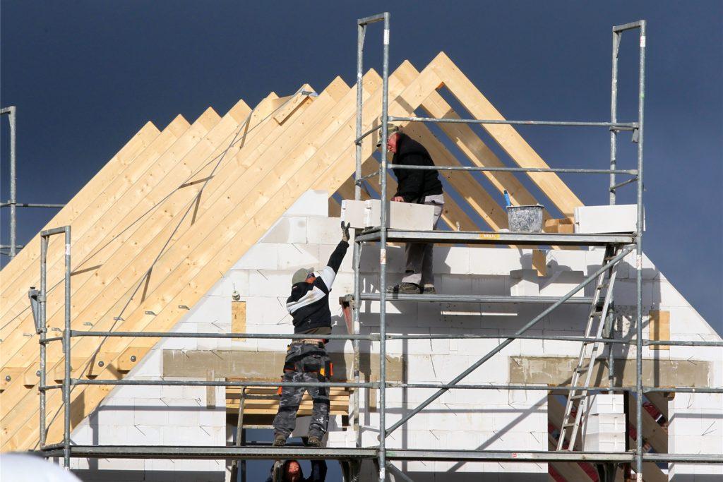 Bauen in Haltern ist teuer, denn Grundstücke sind rar. Selbst Bestandsimmobilien sind kaum zu bekommen.