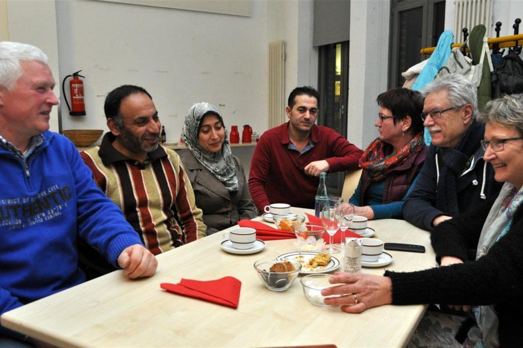Persönliche Begegnungen zwischen Geflüchteten und Halterner Bürgern sind zurzeit nicht mehr möglich.