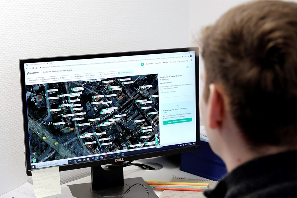 Scoperty hat nach eigenen Angaben 35 Millionen von rund 40 Millionen Immobilien in Deutschland erfasst und im Internet mit einem Preisschild versehen.