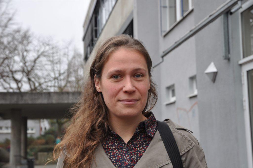 Stadtsprecherin Maresa Hilleringmann