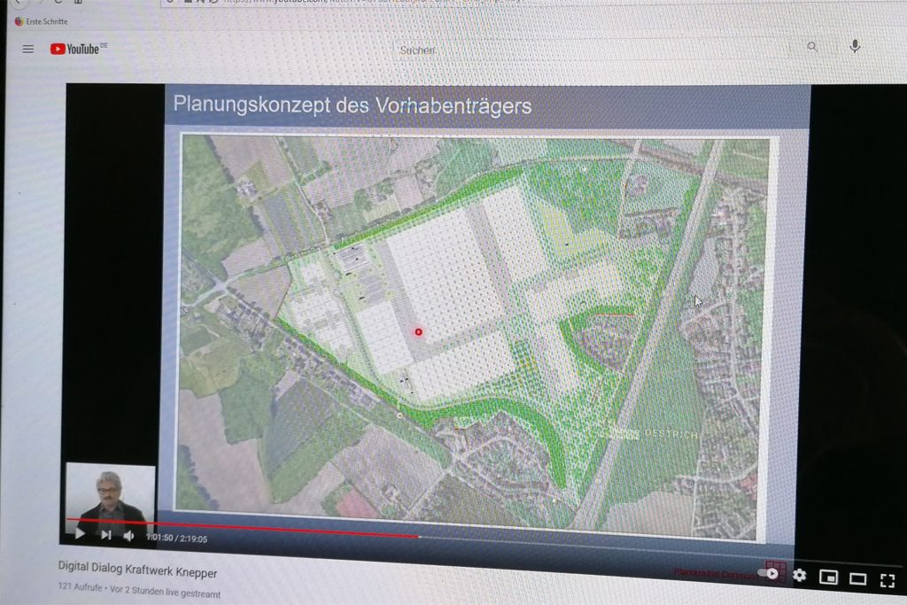 Die Planung der LogPoint Ruhr GmbH sieht für den zentralen und größten Teils des Knepper-Areals riesige Hallen vor. Im Westen und im Osten schließen sich kleinteilige Hallen für Gewerbe an.