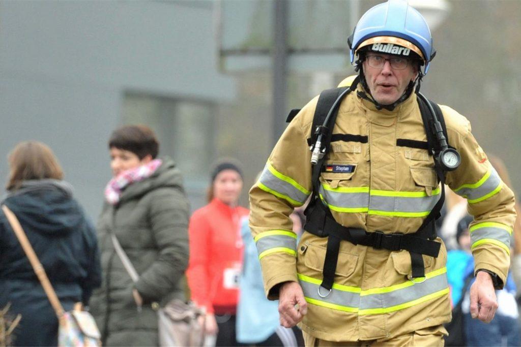 Feuerwehrmann Stephan Lendring ist ein erfahrener Läufer. Damit etwas Gutes zu tun, ist seine Passion.