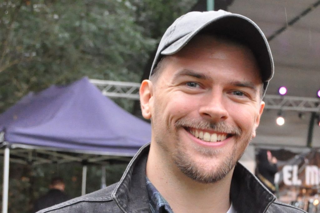 Patrick Nagel, Leiter der Rock'n'Roll-Musikschule