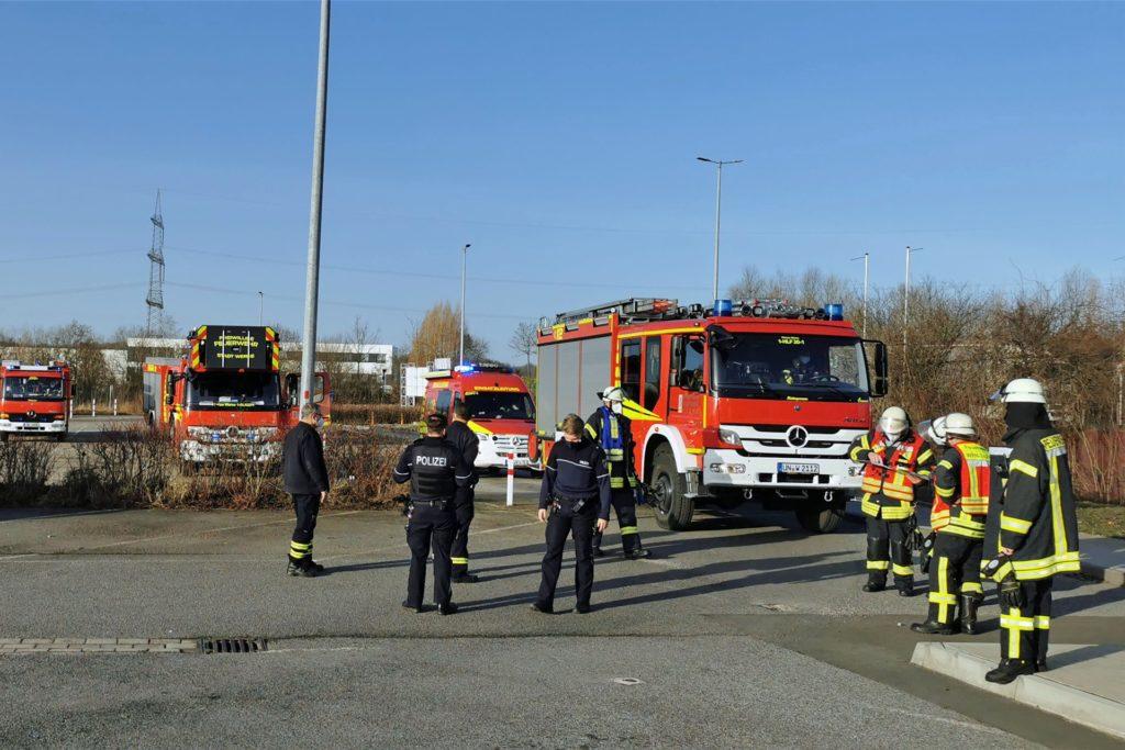 Gleich zwei Mal ließen Defekte an einer Brandmeldeanlage die Wehrleute ins Industriegebiet Wahrbrink ausrücken.
