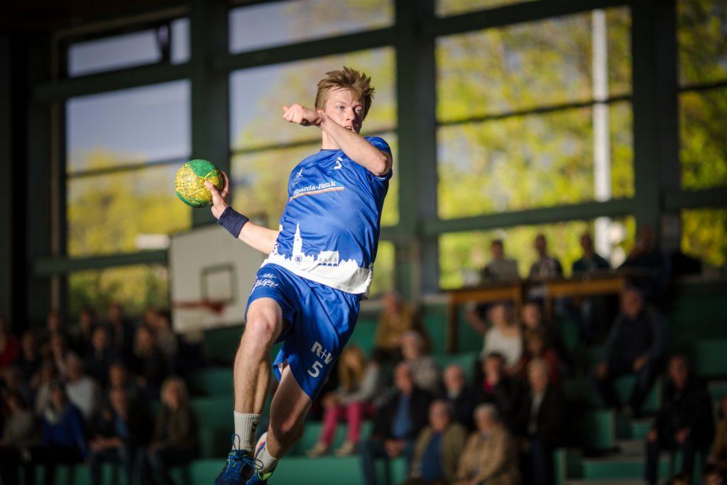 Robin Hettrich stieg mit dem HSC Haltern-Sythen in die Oberliga auf.