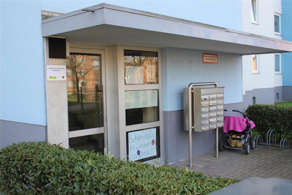 1988 wurde die Kita Worderfeld in einem Wohnhaus eröffnet - als Provisorium. Ihre Tage sind nun gezählt.