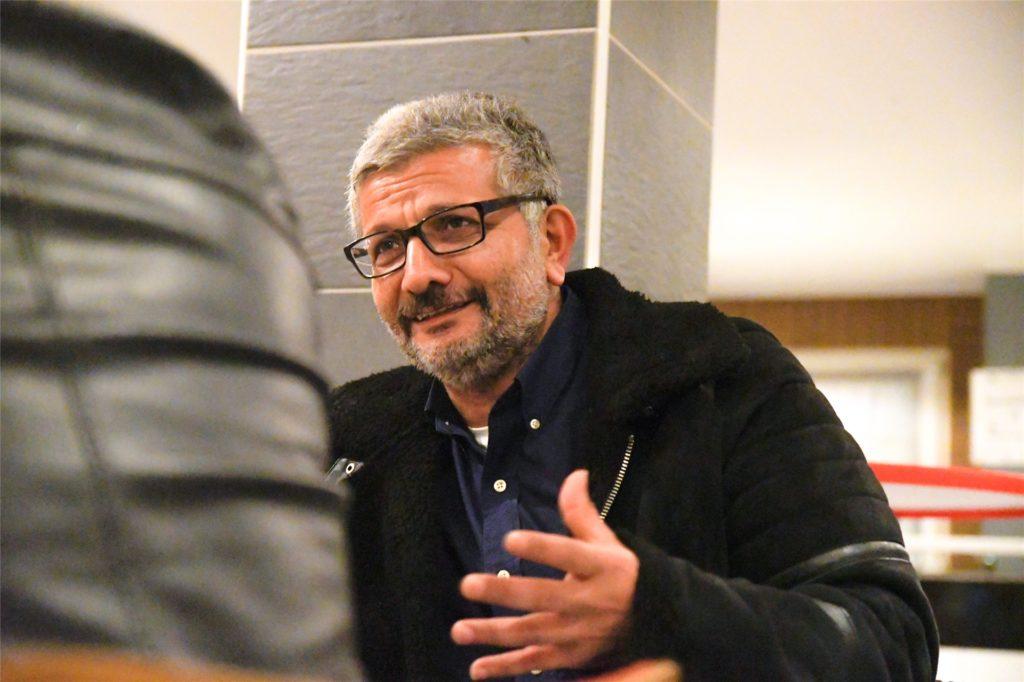Hüseyin Tekin, Sportlicher Leiter der SG Gahmen, hätte gerne schon früher in Gruppen trainieren dürfen.