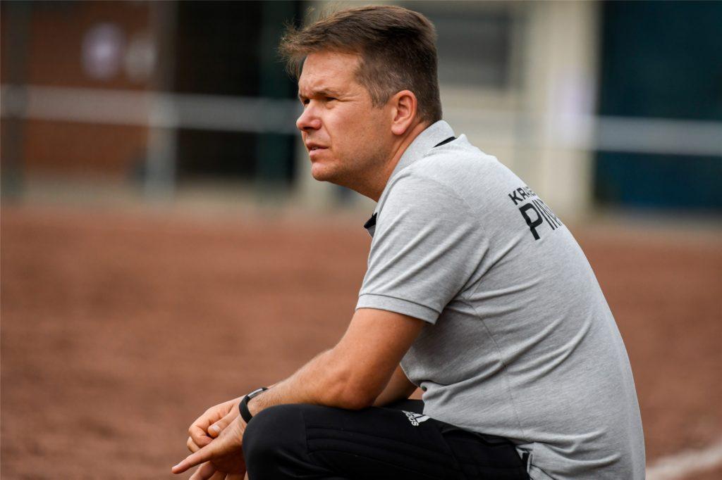 Für Preußen-Trainer Stefan Urban kommt Training in Gruppen nicht in Frage.