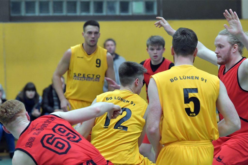 Auch die Basketballer der BG Lünen würde demnächst gerne wieder das Training aufnehmen.