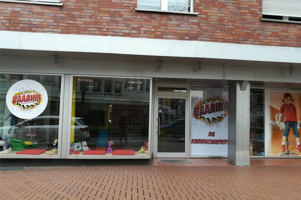 Der Kinderschuhladen Bääähm bietet bereits seit Anfang des Lockdowns Click and meet an.