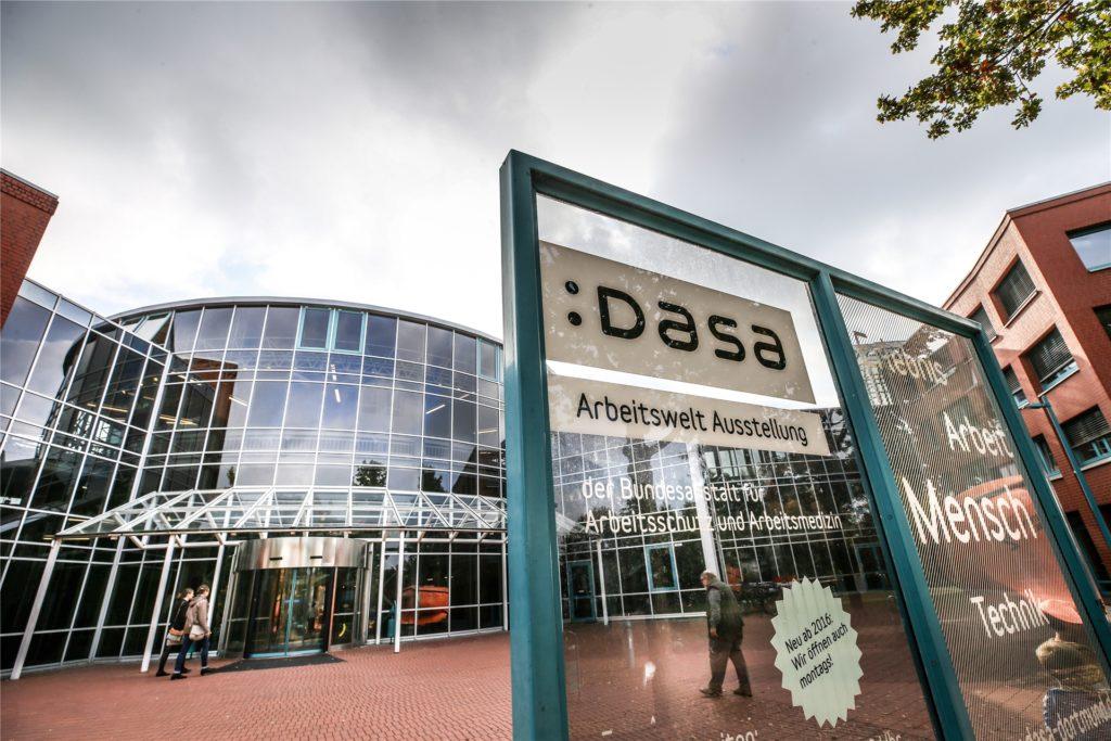 Die Dasa-Arbeitswelt-Ausstellung in Dorstfeld öffnet ab dem 22. März wieder.