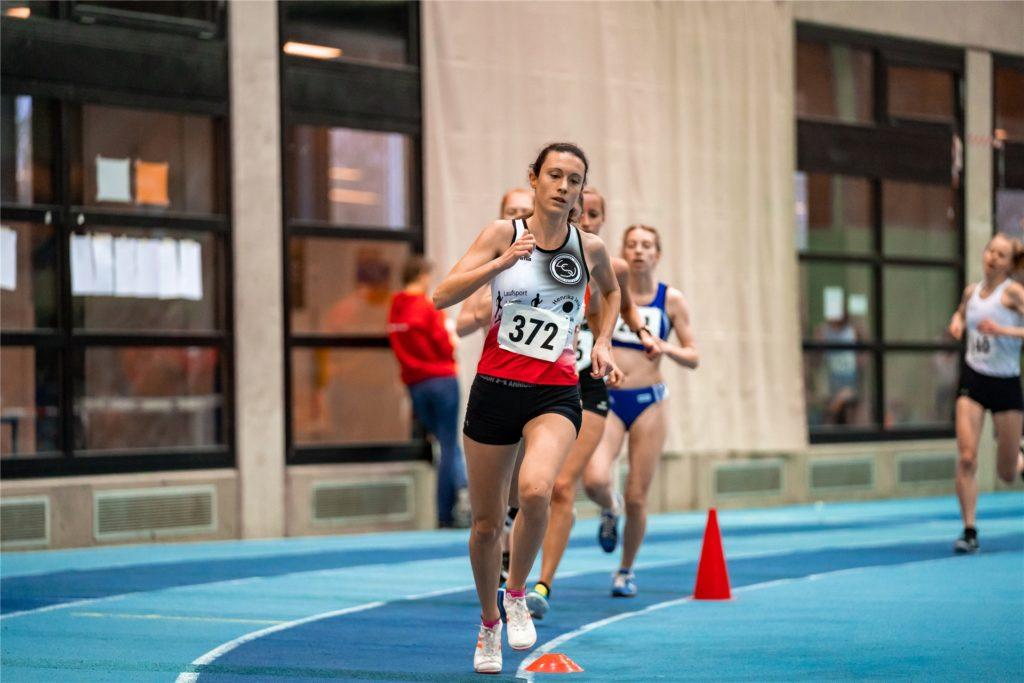 Lara Predki ging im vergangenen Jahr bei den Deutschen Meisterschaften in Leipzig an den Start.