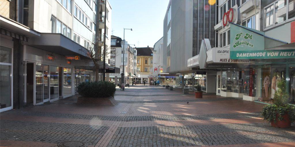 Ob und wann die Läden in der Castroper Altstadt wieder schließen müssen, steht immer noch nicht endgültig fest.