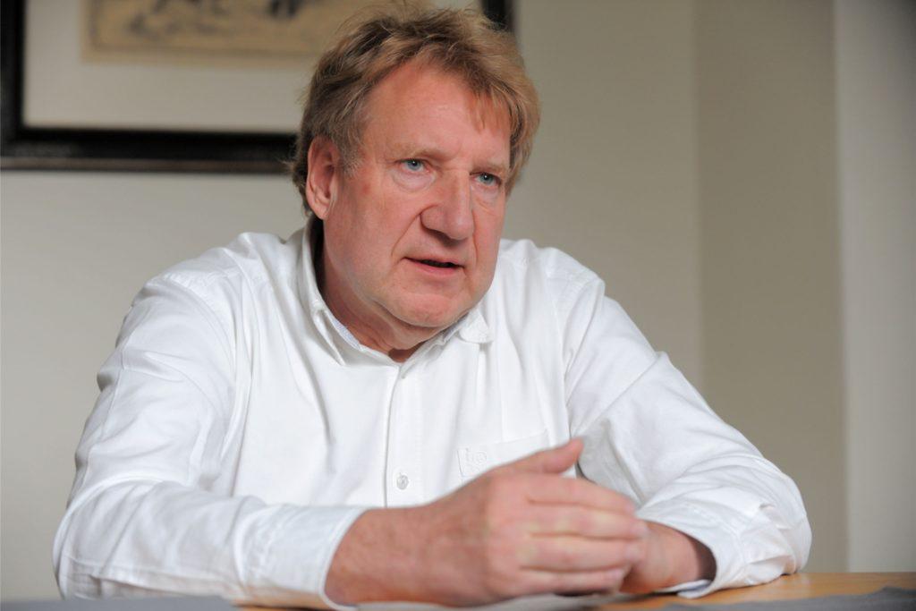 Der Schwerter Arzt Theodor Spanke ist Leiter des Impfzentrums für den Kreis Unna.