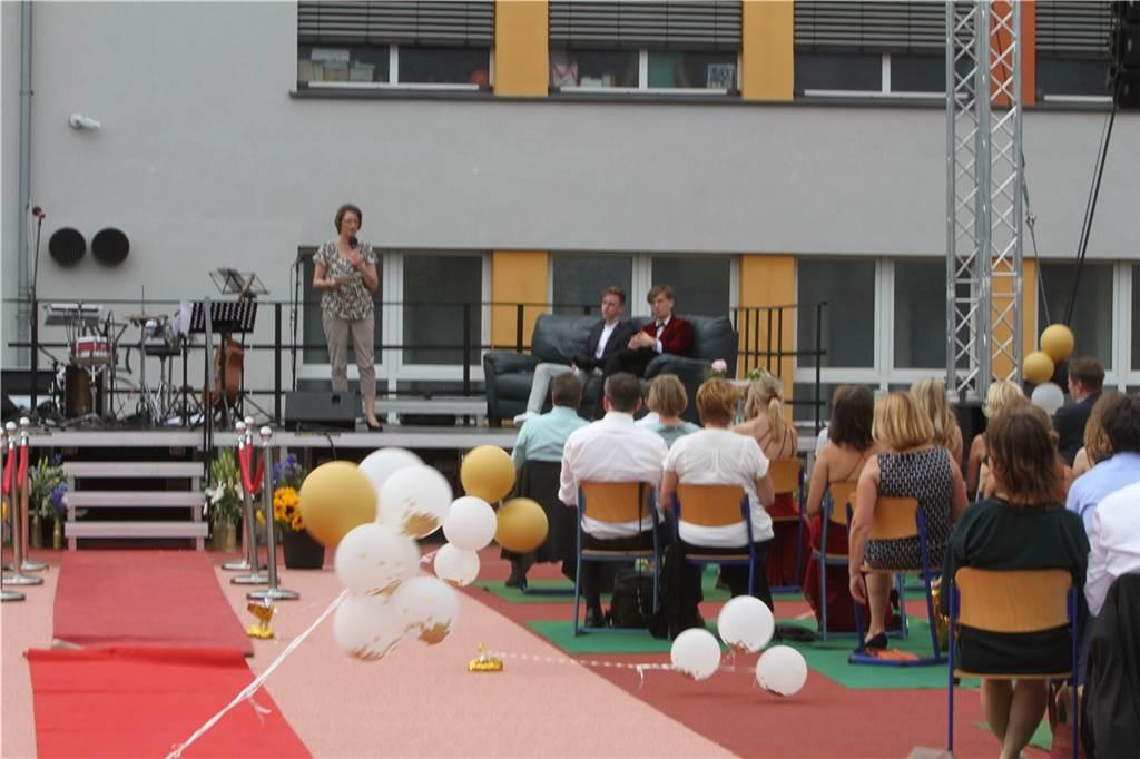 Abi 2020 am Ruhrtal-Gymnasium in Schwerte.