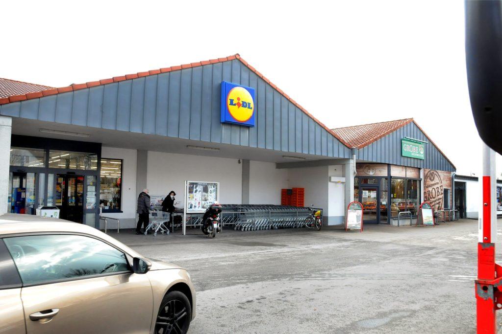 Am Lidl-Einkaufszentrum an der Schützenstraße gibt es keinen Geldautomaten der Volksbank mehr.