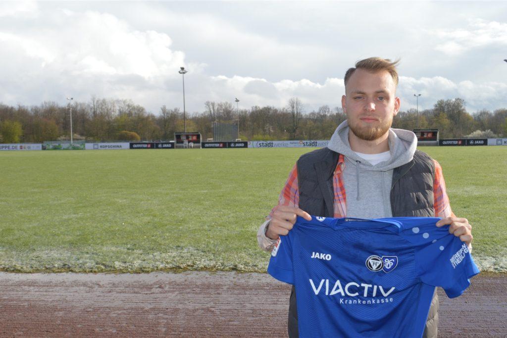 Maximilian Dagott wechselt im Sommer von den Kickers Emden zum TuS Haltern am See.
