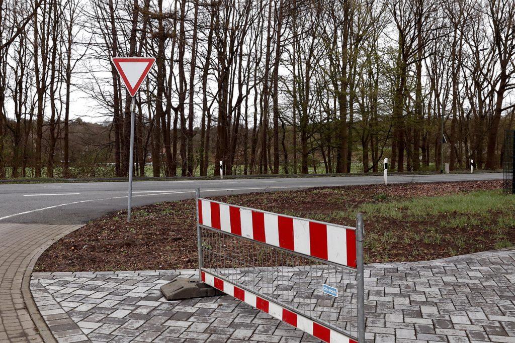 Gegenüber der Einmündung Ecksteins Hof auf die Recklinghäuser Straße: Dieser Standort wird beim Instagram-Beitrag für die