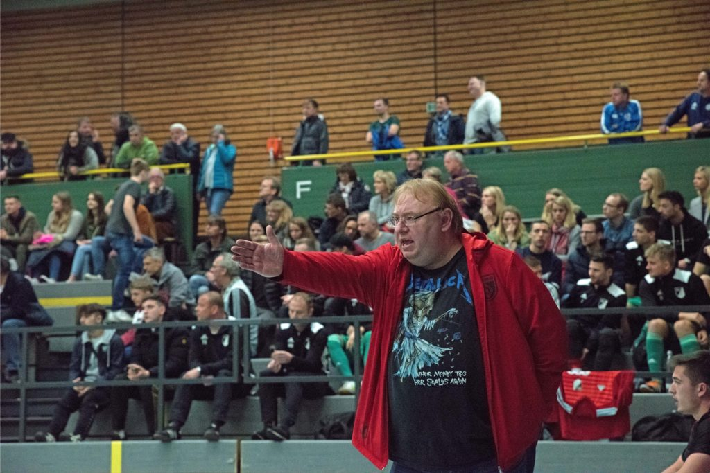 Christoph Bafs-Dudzik übernahm den SV Hullern in einer schwierigen Situation.