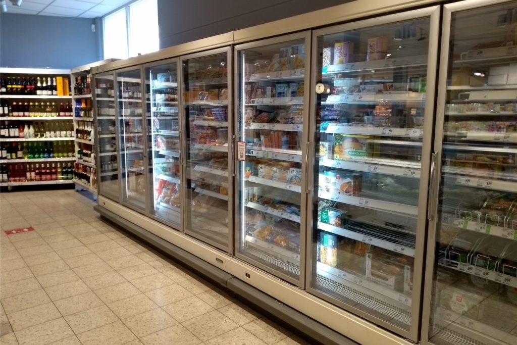 Kühlschränke und -theken werden ebenfalls erneuert.