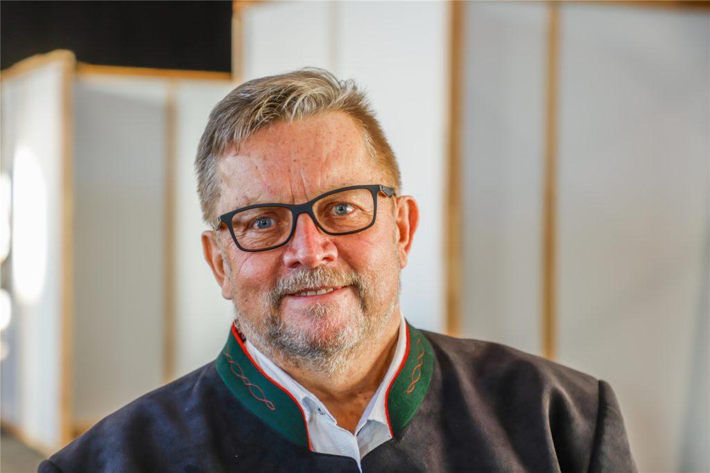 Dr. Reinhard Büker ist der Medizinische Leiter des Impfzentrums in Dortmund.