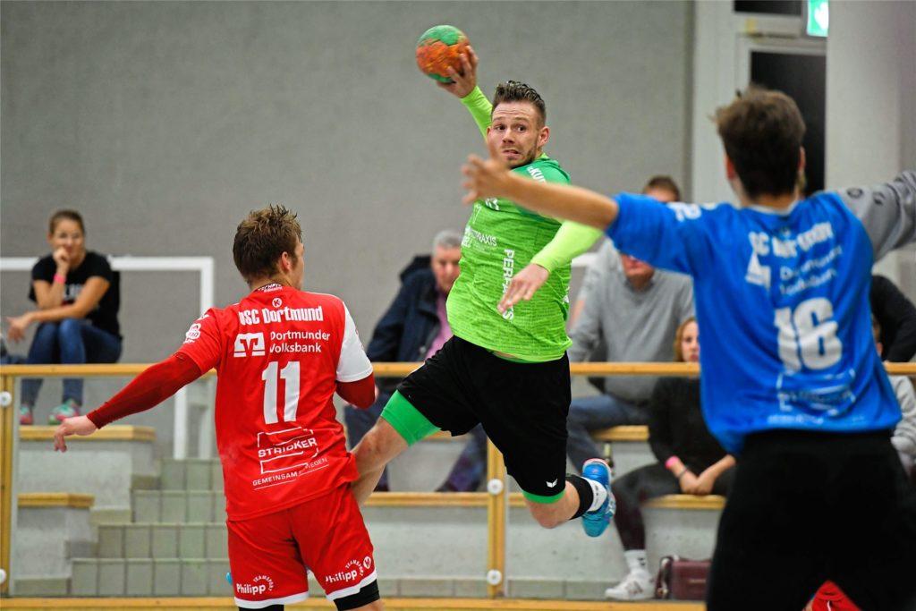 Pierre Weber wechselt im Sommer von der PSV Recklinghausen zum HSC Haltern-Sythen.