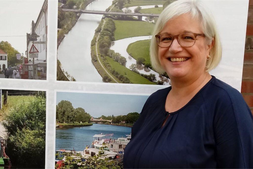 Sabine Fischer, Leiterin der Stadtagentur Dorsten