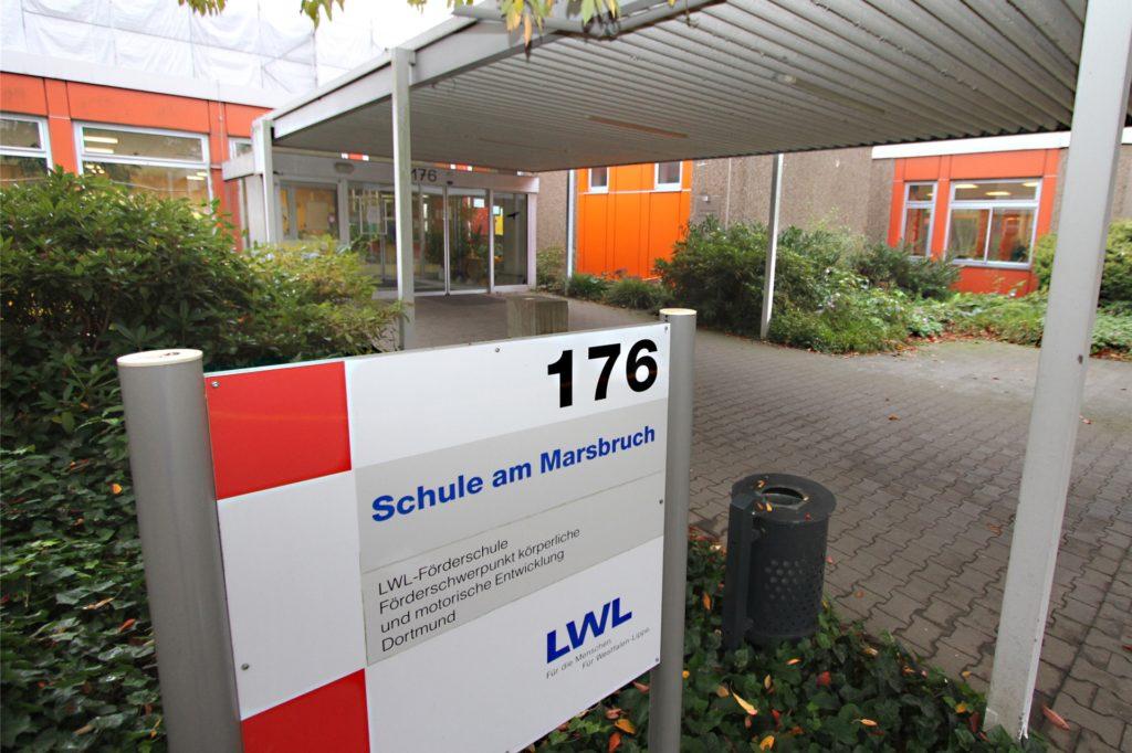 Die LWL-Förderschule am Marsbruch hat viele Kinder, die schwerstmehrfachbehindert sind.