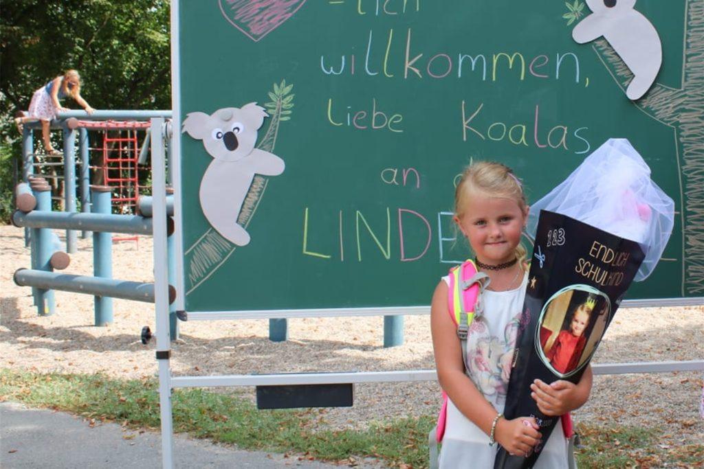 Nia (7) geht eigentlich gern in die Lindenschule. Und auch in der OGS macht ihr das Spielen mit den anderen Kindern Spaß. Aber Corona hat viel verändert.