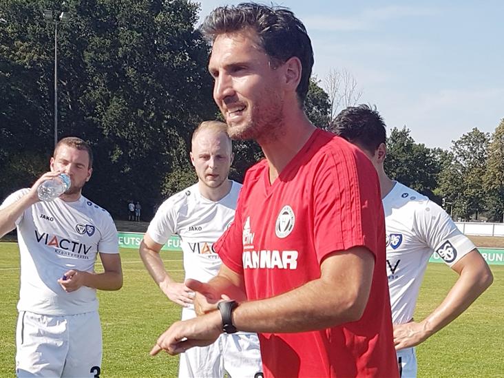 Sebastian Amendt freut sich, im Sommer Tim Schemmer als Neuzugang für das Team B des TuS Haltern am See begrüßen zu dürfen.