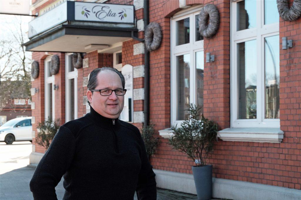 Ioannis Kollias ist Inhaber des Restaurant Elia in Wulfen.