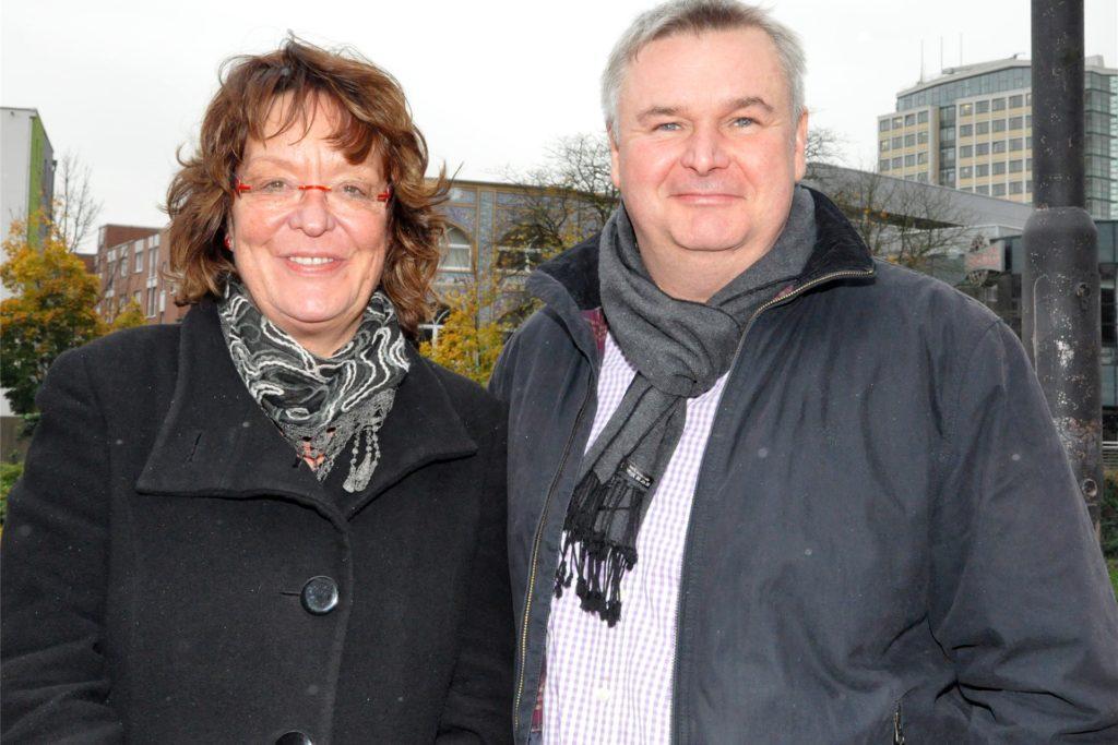 Kritisieren die Kürzungspläne: Birgit Rückert und Michael Wopker.