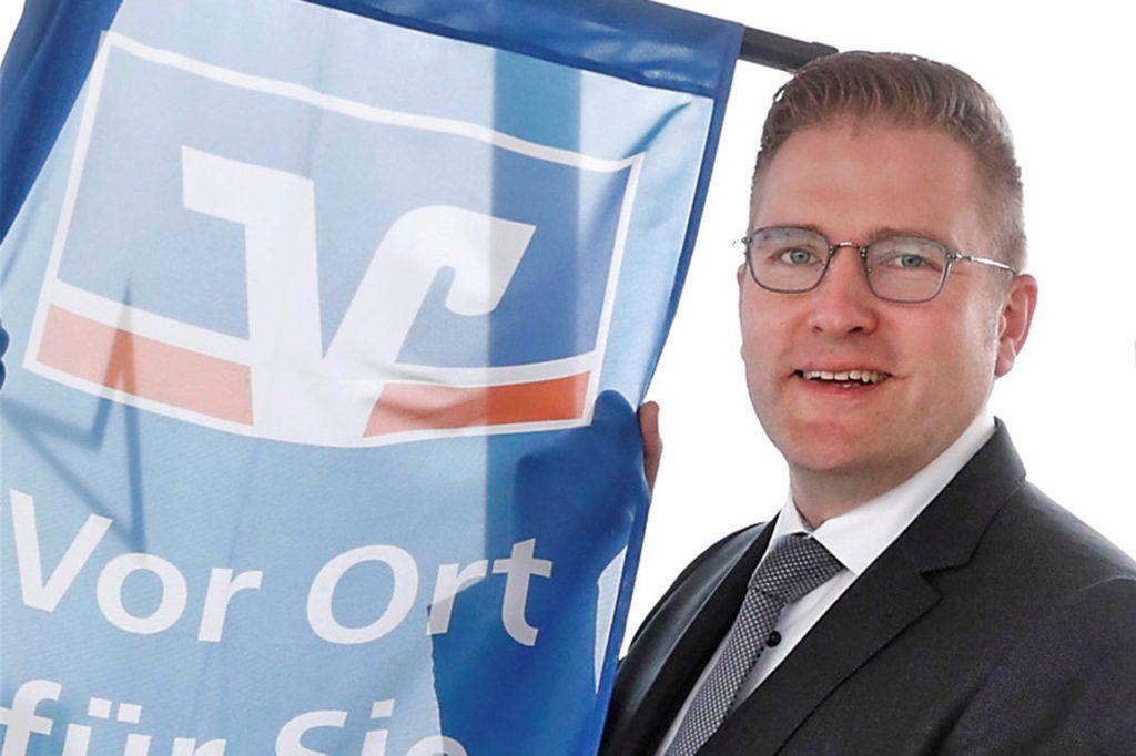 Henning Henke, Vorstand der Volksbank Südmünsterland Mitte.
