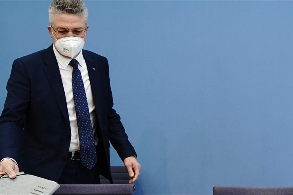 RKI-Chef Wieler warnte am Freitag vor zu schnellen Öffnungen in dieser Phase der Pandemie.