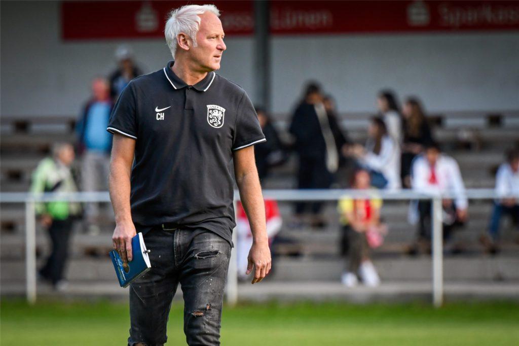Christian Hampel hat während seiner Zeit beim Lüner SV häufig mit Beratern zu tun gehabt.