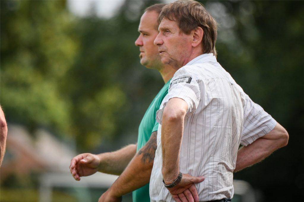 Rolf Nehling, Sportlicher Leiter von Westfalia Wethmar, sieht Spielerberater auch im Nachwuchsbereich schon als Problem.