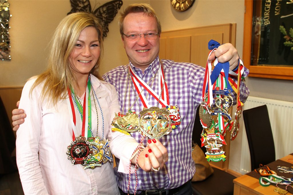 Jörg Weber war mit seiner Frau Sarah im Jahre 2017 als närrisches Stadtprinzenpaar aktiv.