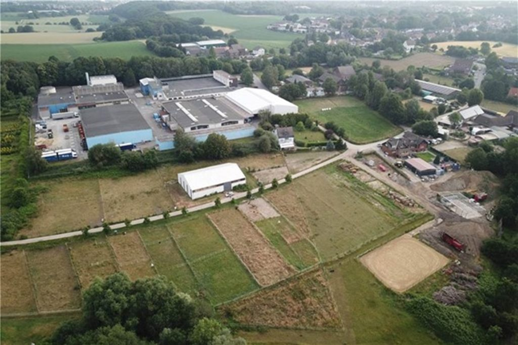 Höfe, Pferdeweiden, viel Natur, Kornbrennerei Büchter. Aber auch große Hallen, Bagger, Gewerbe: An der Stadtgrenze zwischen Bochum und Castrop-Rauxel will sich der Bodenaufbereiter Ecosoil ansiedeln.