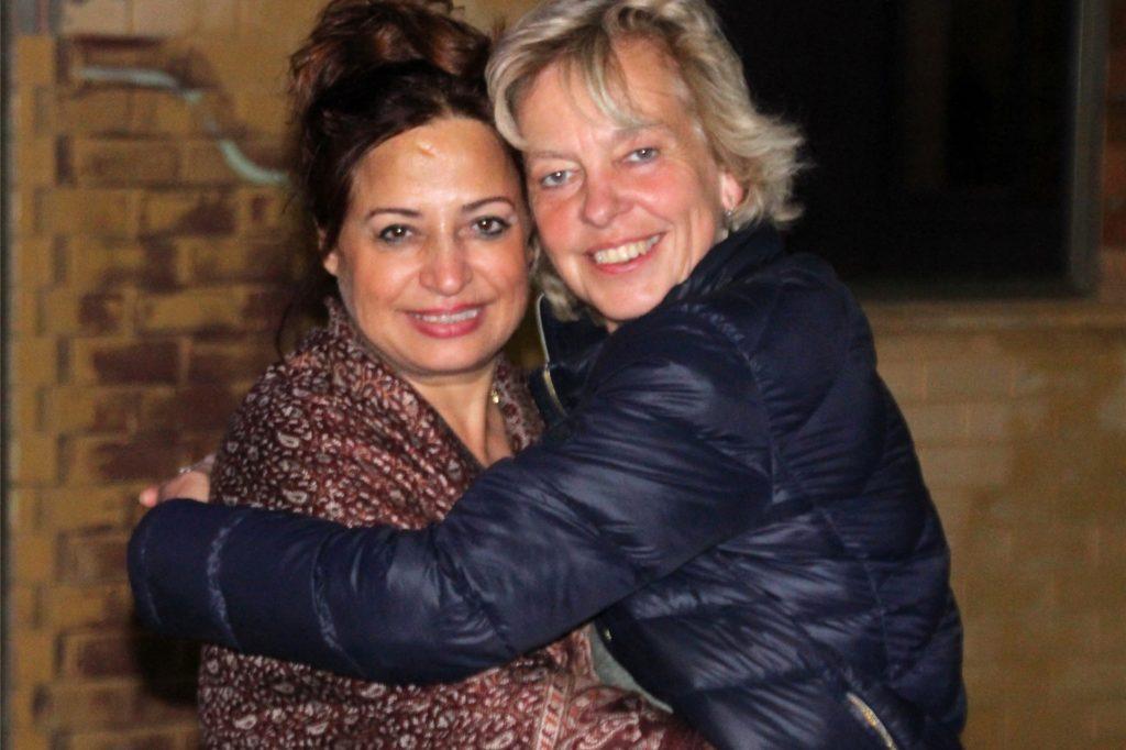 Freundinnen fürs Leben (v.r.): Die Hertener Lehrerin Renate Tellgmann mit ihrer jüdischen Freundin Silvi Behm, die in der israelischen Hafenstadt Haifa lebt.
