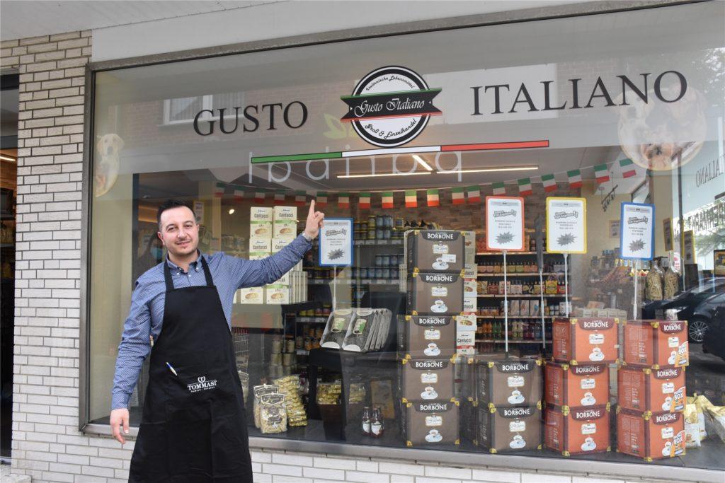 Die Idee für einen italienischen Supermarkt schlummerte schon lange in Antonio Gareri. Nun hat er die Idee zusammen mit seiner Frau umgesetzt.