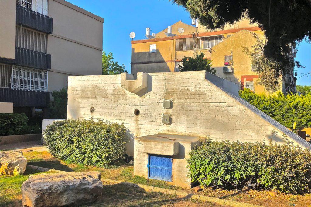 Diesen Bunker sucht Dori Rindle auf, wenn sie die Sirenen hört.