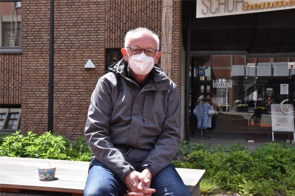 Mit den Enkeln etwas unternehmen und mal wieder raus und essen gehen - Bernd Havers freut sich auf die Lockerungen.