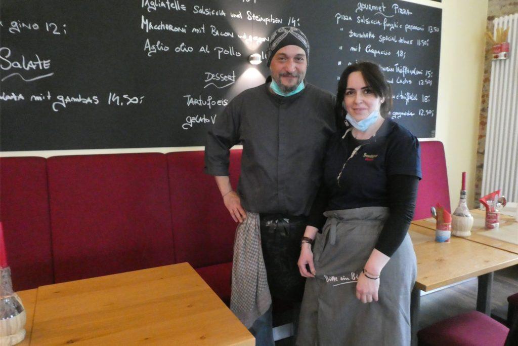 Monica und Maurizio Martellini, können nun erstmals Gäste im Leo's empfangen