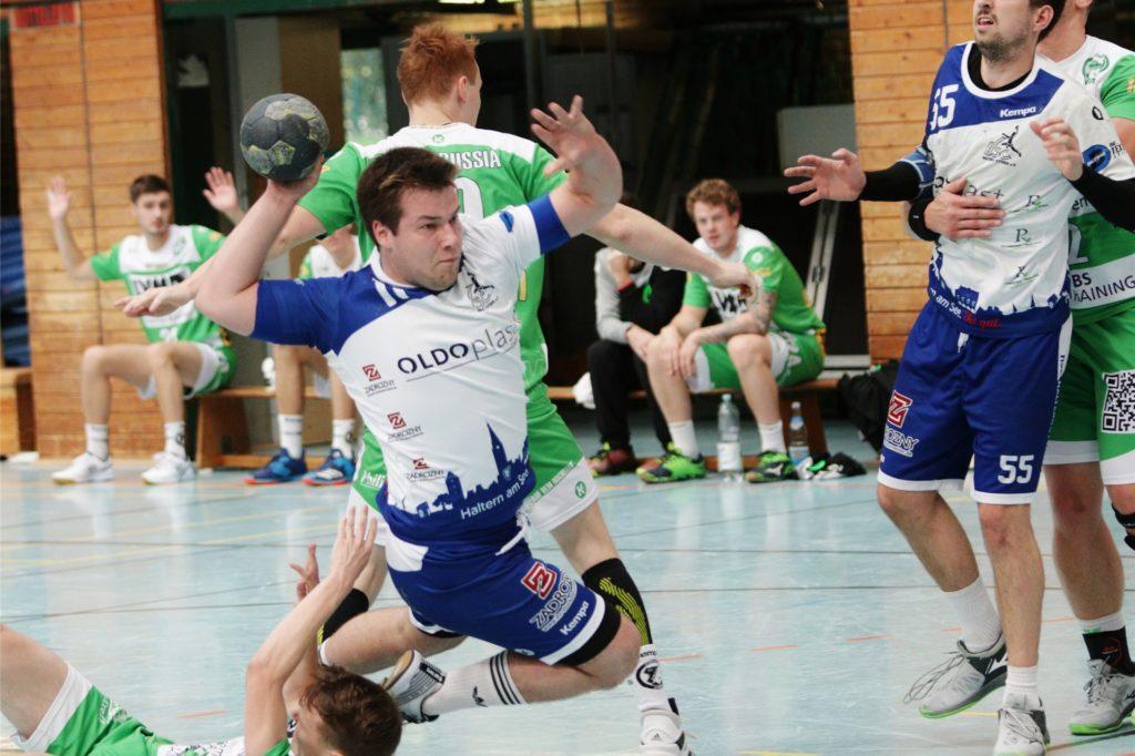 Mika Knöner half in der Vergangenheit auch schon mal in der zweiten Mannschaft des HSC Haltern-Sythen aus.