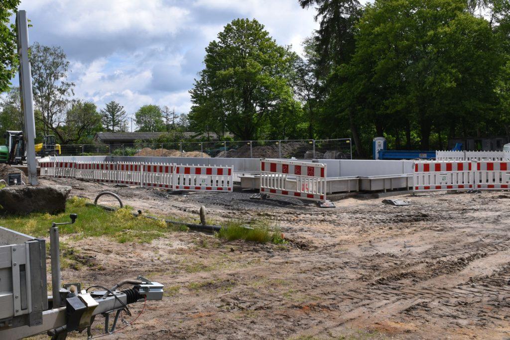 Die Bauarbeiten gehen laut Bernd Brüggemann gut voran.